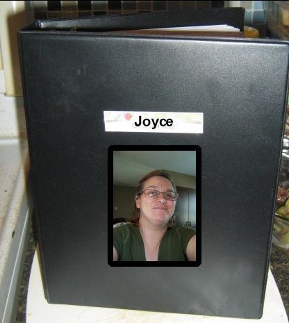 Joyces Black Bullet Journal - logo